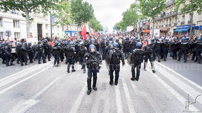 (c) PFRunner _Manif Loi Travail 14 juin Police _DSC04964